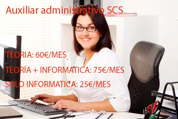 Clases Presenciales Auxiliar Administrativo SCS