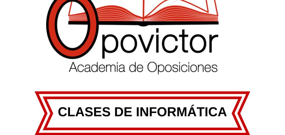 CLASES DE INFORMÁTICA
