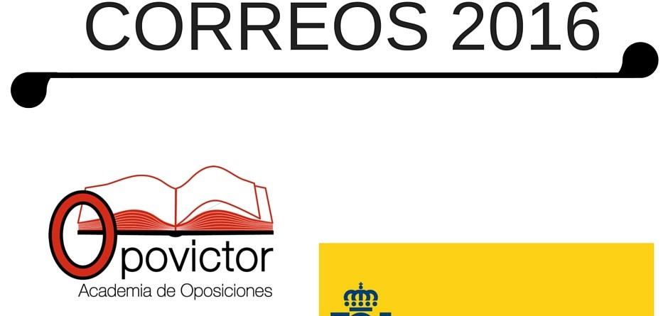 CORREOS 2016