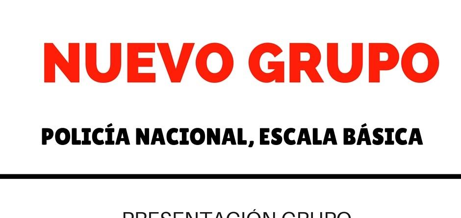 NUEVO GRUPO POLICIA 2016