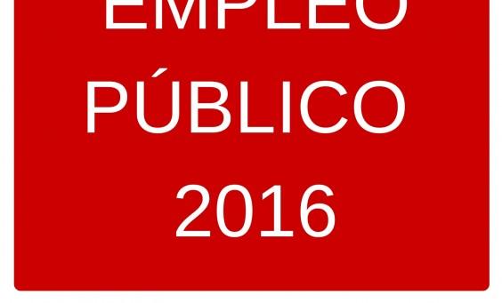 OFERTA EMPLEO PÚBLICO