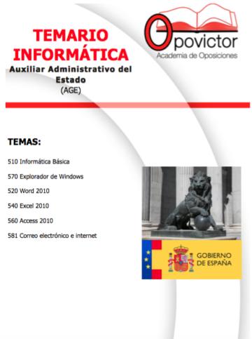 PORTADA TEMARIO INFORMÁTICA AGE