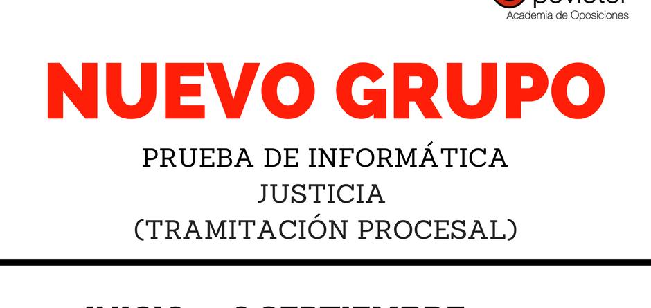 NUEVO GRUPO INFORMATICA JUSTICIA SABADOS