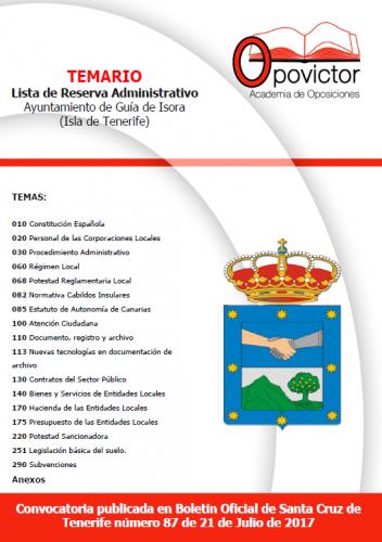 ADMINISTRATIVO GUIA DE ISORA