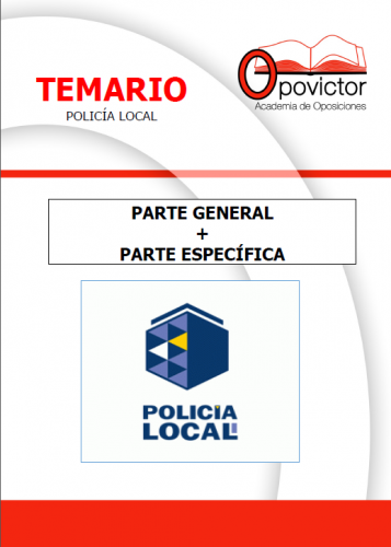 PORTADA TEMARIO POLICIA LOCAL