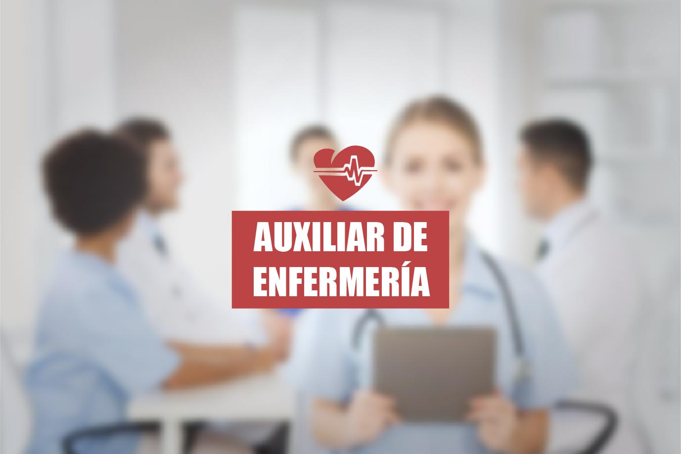 Resultado de imagen de OPE AUXILIAR DE ENFERMERIA