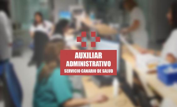OPOVICTOR - OPOSICIONES AUXILIAR ADMINISTRATIVO SERVICIO CANARIO SALUD