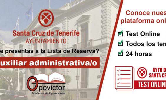 Auxiliar Adm. Sta Cruz TEST_Online
