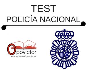 TEST POLICÍA