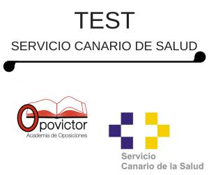 TEST SERVICIO CANARIO DE SALUD