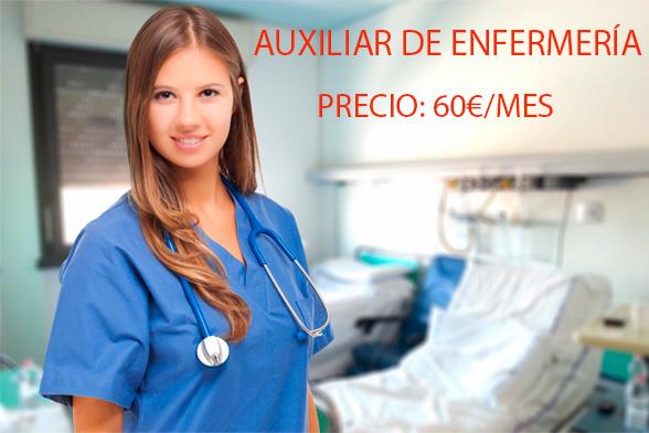 Clases Presenciales Auxiliar de Enfermería