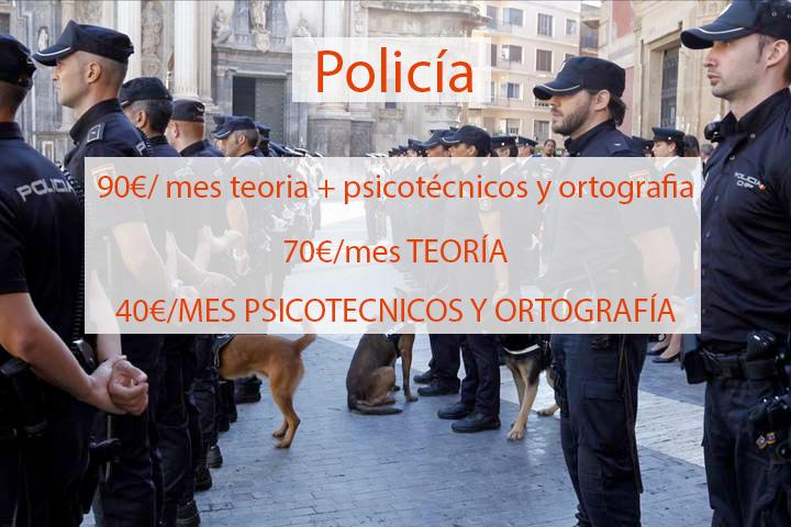 Clases Presenciales Policía