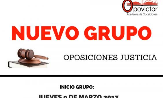 NUEVO OPOSICIONES JUSTICIA JUEVES 4-6